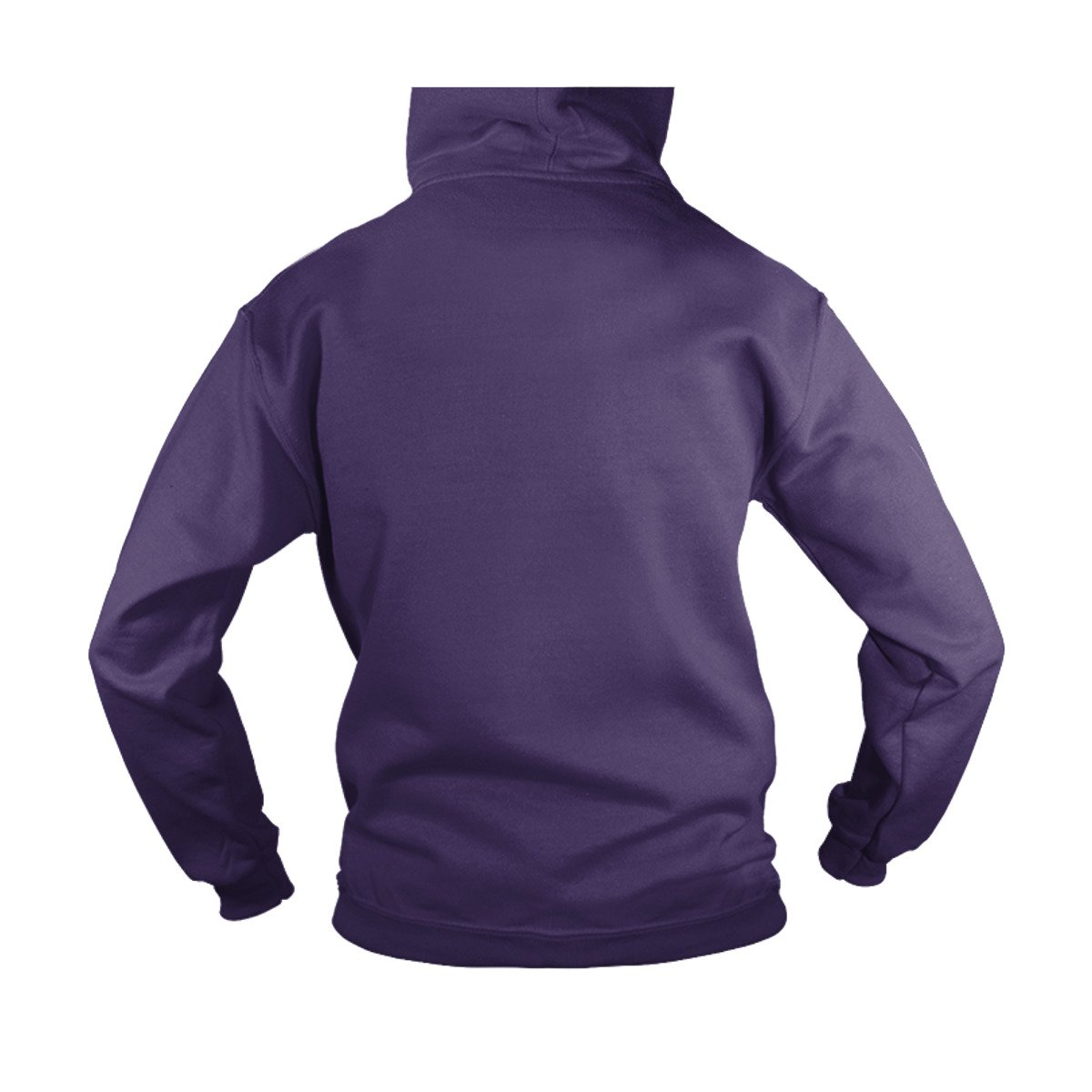 Unisex Go Get It Out The Ocean Adult Hooded Sweatshirt L, Purple