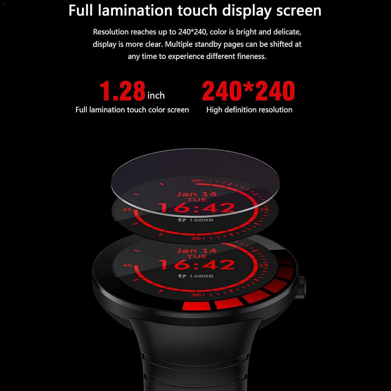xingling Montre Intelligente Bluetooth 5.0 Montre /à /écran Tactile Couleur Multi-Action /étanche ip68 pour Hommes et Femmes Suivi de la Physique Compteur de Pas Suivi de la sant/é