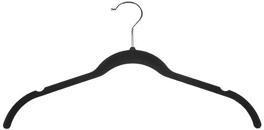 200 opinioni per AmazonBasics- Gruccia in velluto per abiti e camicie, 30 pezzi, colore nero