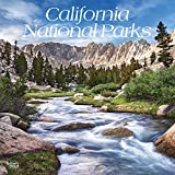 California National Parks 2021 12 x 12 Inch Monthly Square Wall Calendar, USA United States of America Pacific West State Nature