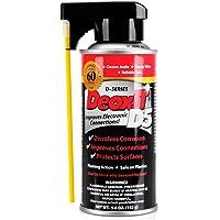 Hosa D5S-6 CAIG DeoxIT 5% Spray Contact Cleaner, 5 oz.