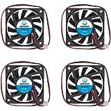WINSINN 6010 5V 12V 24V DC Brushless Cooling Fan 50mm 60x60x10mm for DIY PC Computer Case CPU Graphics Card 6010 5V 6010 5V 6010 5V