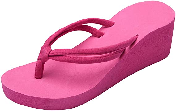 New Girls Flip Flops Slip On Toe Post Summer//Indoor Slippers UK Sizes 10-2