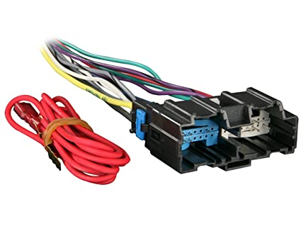 metra 70 2105 radio wiring harness for impala monte carlo 2006 and up Saab Stereo Wiring Adapters