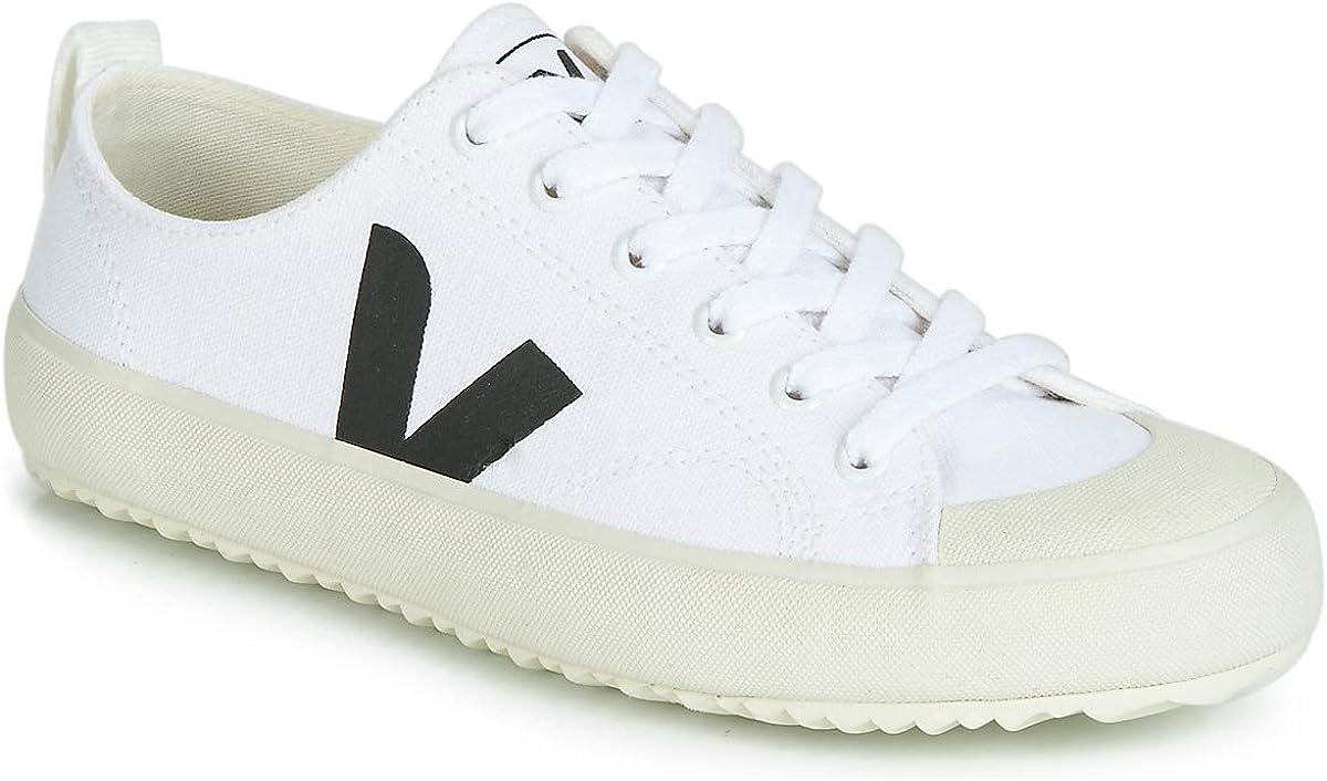 VEJA Nova Zapatillas Moda Hombres Blanco/Negro Zapatillas Bajas