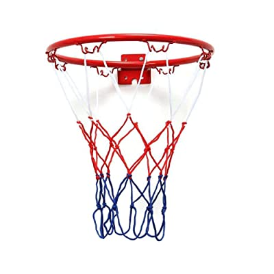 YINKUU Basketball Hoop,12.6 Easy Score for Children or Young Men Red: Toys & Games