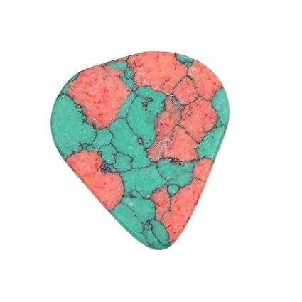 Baoblaze Puntas de Guitarra Eléctricas Acústicas 2mm Púas - Verde Triángulo, como se describe