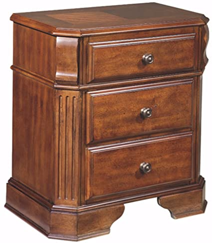 Superieur Ashley Furniture Signature Design   Braflin Nightstand   2 Dovetail Drawers    Contemporary   Medium Brown