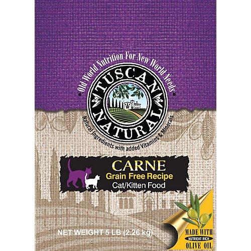 Tuscan Natural Carne Grain Free Dry Cat Food 5lb