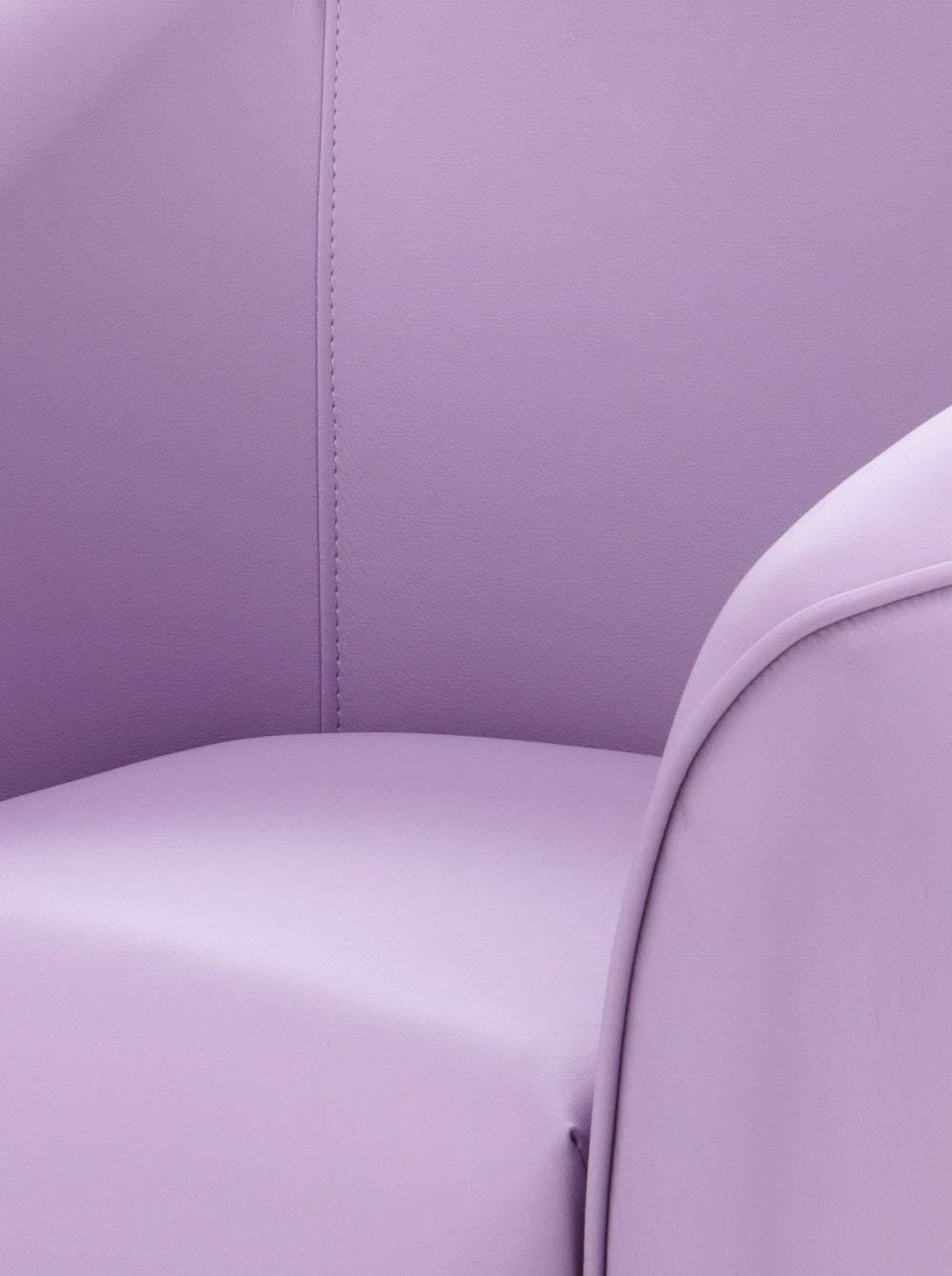 Wink design, Los Angeles, White sillón de cuero ecológico ...