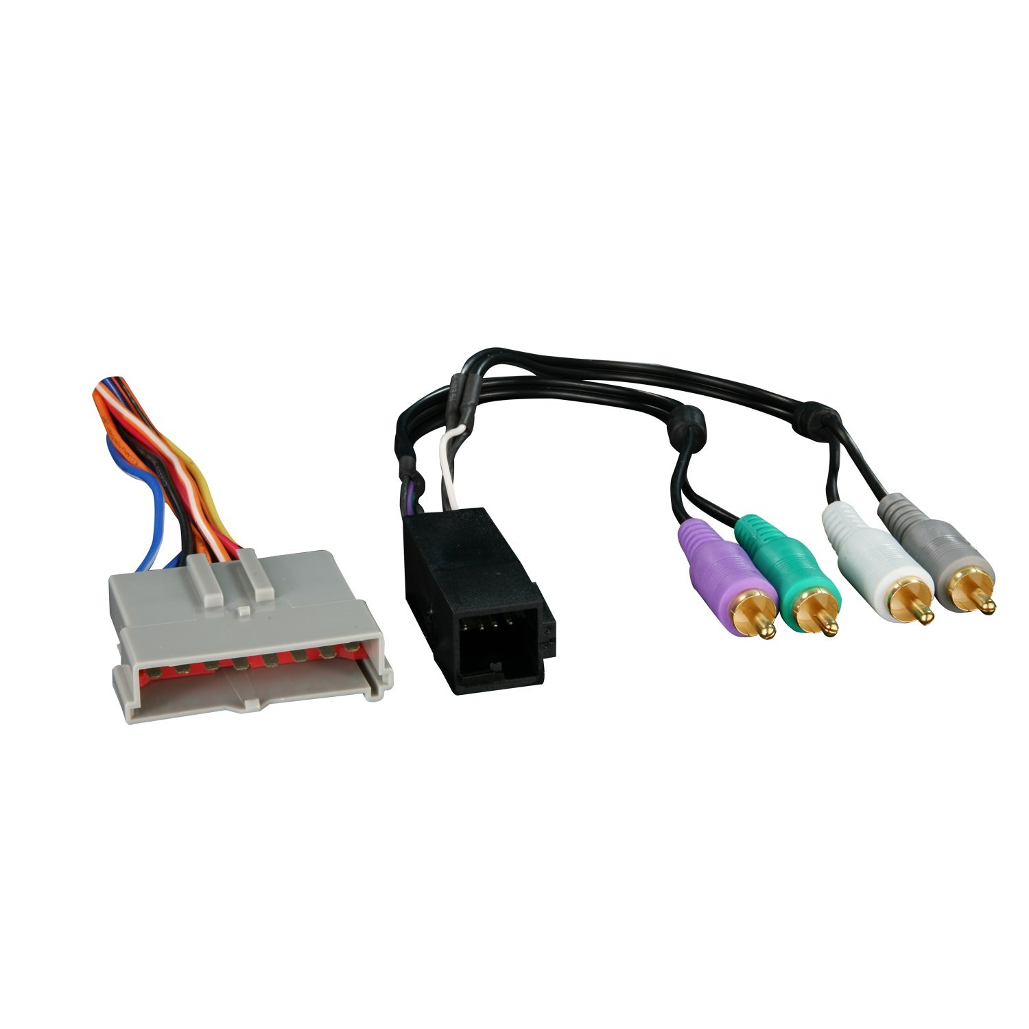 61dBSPZoitL._SL1500_ amazon com metra 70 5510 factory amplifier integration harness ford integration wire harness at alyssarenee.co