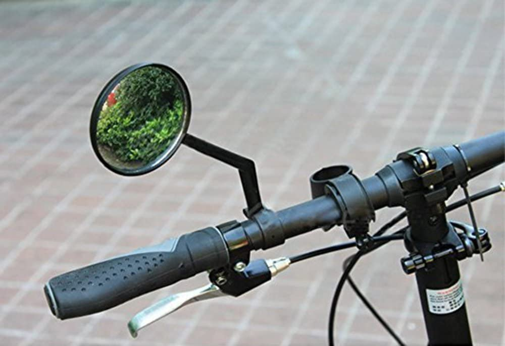 20mm 360/° Rotation Bicycle Rearview Mirrors Suitable for The Handlebar with Diameter of 18mm ZOSEN Bike Mirrors 1 Pair 0.71 in - 0.79 in