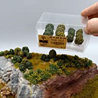 LZDseller01 12 Piezas de árboles Modelo Mixto, arbustos