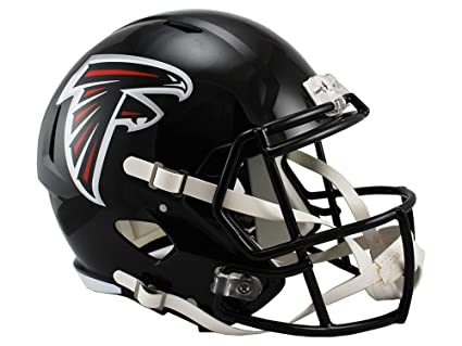 455ec5800 Amazon.com   Riddell NFL Atlanta Falcons Full Size Replica Speed ...