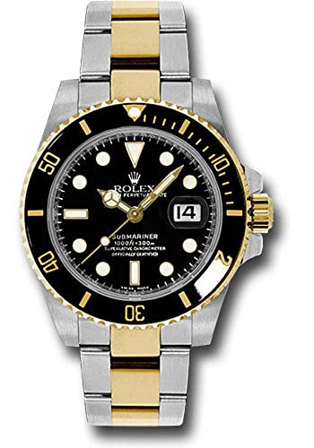 amazon com rolex oyster perpetual 40mm stainless steel 18k yellow