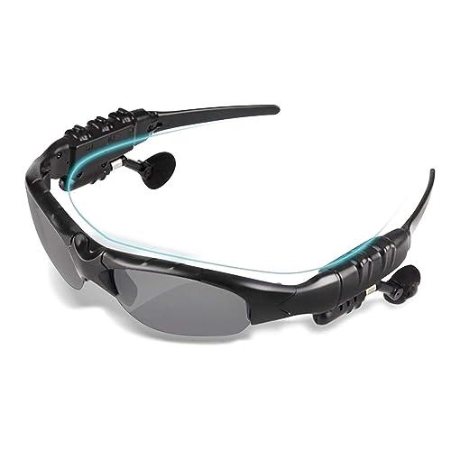 TechKen Sunglasses Headset Headphone Bluetooth Wireless Music Sunglasses