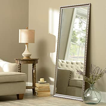 Amazon Com Neutype Full Length Mirror Standing Hanging Or Leaning