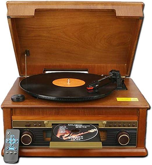 YWAWJ Altavoces Tocadiscos del fonógrafo Vintage clásico Retro del ...