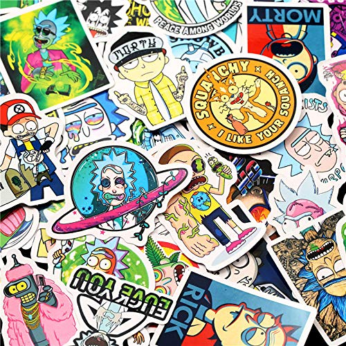 Stickers [50Pcs] Laptop Stickers Bomb Decal for Snowboard Laptop Luggage Car Fridge DIY Styling Viny - coolthings.us