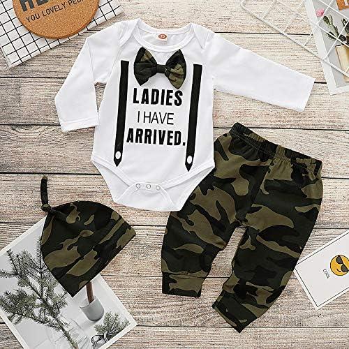 Hut Outfits Spielanzug Set 2019 Allence Weihnachten Baby Kleidung Set Hosen 3pcs Baby Neugeborenes M/ädchen Jungen Kleidung Lange /Ärmel Strampler Overall