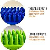 Rubber Dog Bath Brush Set by Tank & Sherman - Set