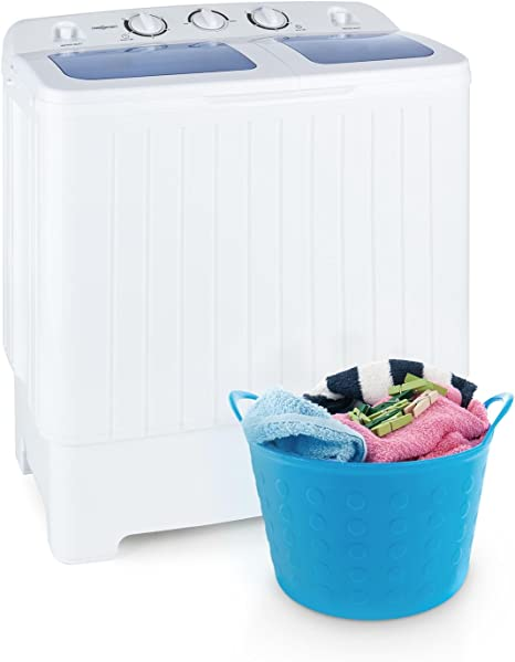 Oneconcept Ecowash XL - Lavadora, minilavadora, con centrifugadora ...