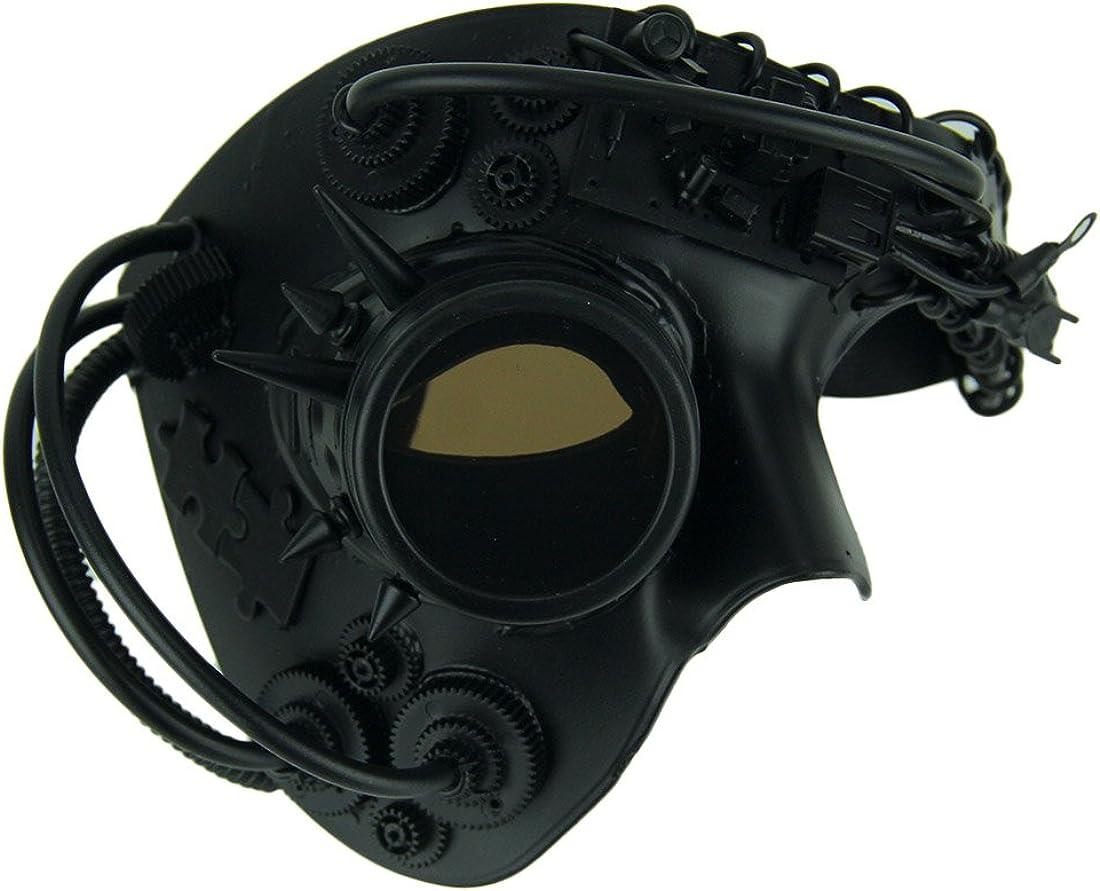 Gold Steam Punk  Venetian Phatom Opera Mardi Gras Masquerade Mask M39146