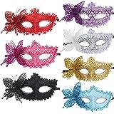 10pcs Set Butterfly Half Masquerades Venetian Masks Costumes Accessory