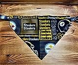 Pittsburgh Steelers Dog Bandana No-Tie