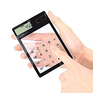 Merssyria Solar Power Calculator 8 Digits Ultra Thin
