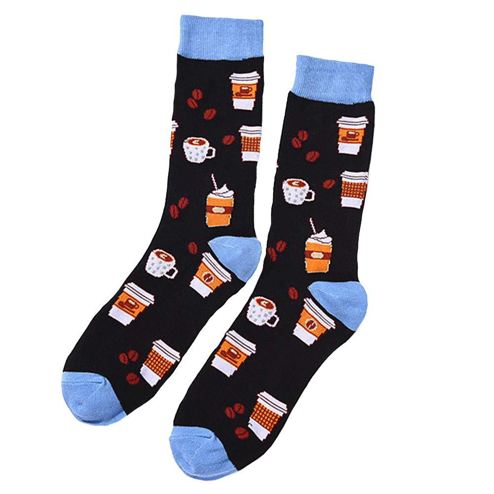 Dragon Honor Colorful Mens Novelty Combed Cotton Socks Funny Cute Cool Luxury Casual Socks