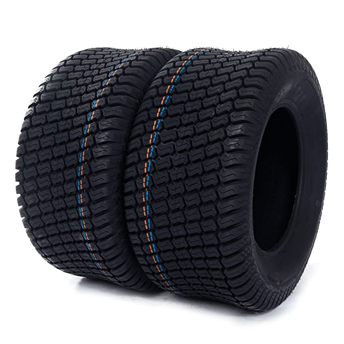 2 pcs 23x10.5-12 Turf Tires P332 /4PR Lawn Mower Golf Cart Garden Tire