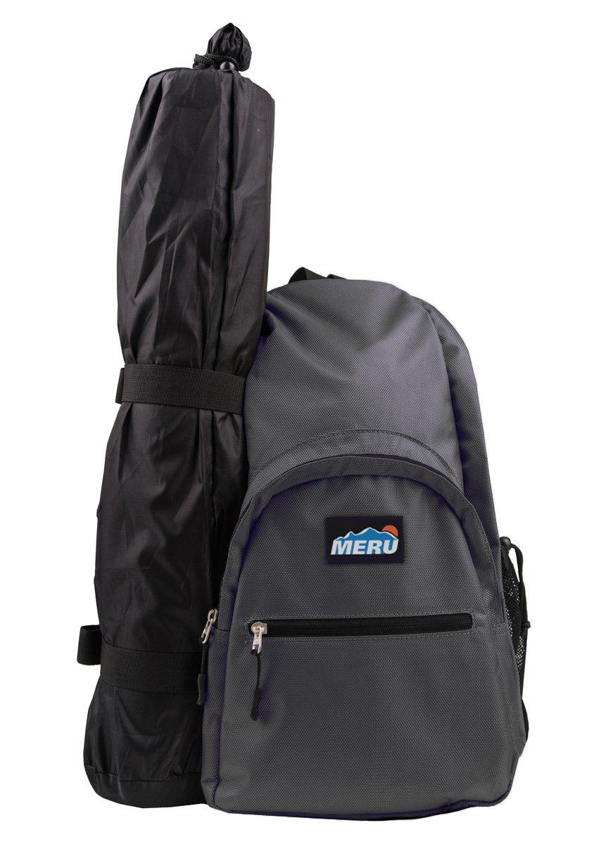 855bcea16e MERU Yoga Sling Backpack - Waterproof Crossbody Bag - Gym Travel Hiking  Biking - Women