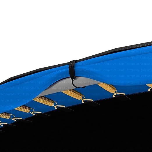 Ampel 24 - Funda Protectora para Cama elástica/Ø 183-490 cm/Cobertura con Drenaje Central de Agua