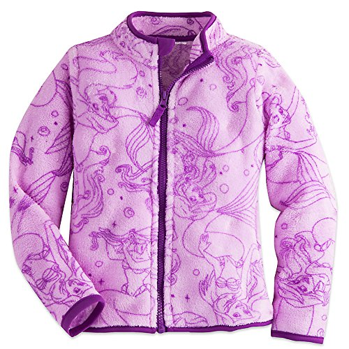 Disney Girls Ariel Fleece Jacket 7/8 Purple