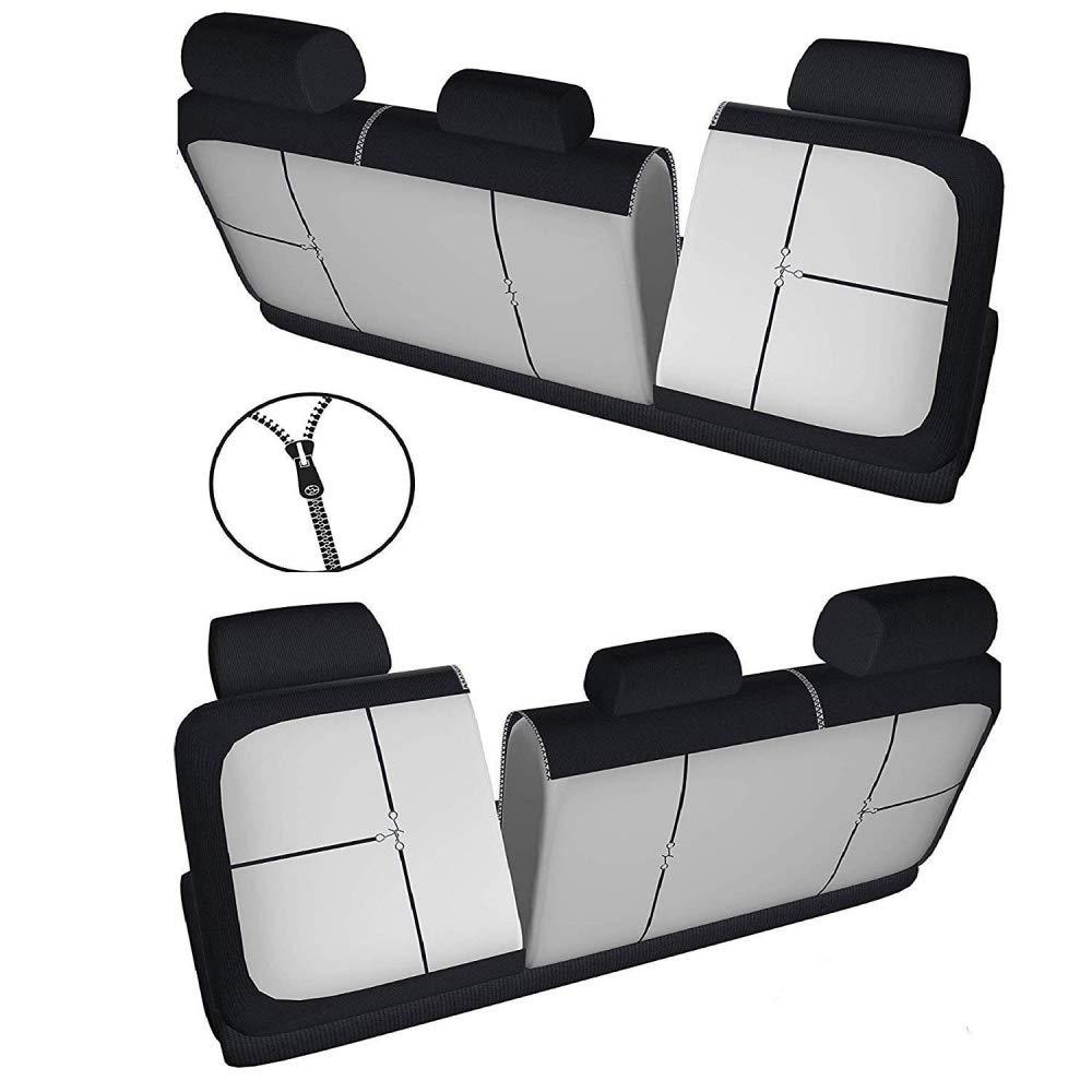 reposabrazos Laterales Asientos Traseros separables R01S0373 Compatible con Asientos con airbags 2002-2009 rmg-distribuzione Fundas de Asiento para Sorento versi/ón