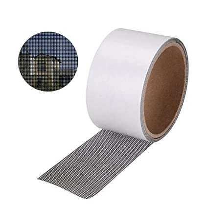 Genial Sanyi Screen Patch Repair Kit Door Window Screen Repair Tape Covering Mesh  Tape Waterproof Strong Adhesive
