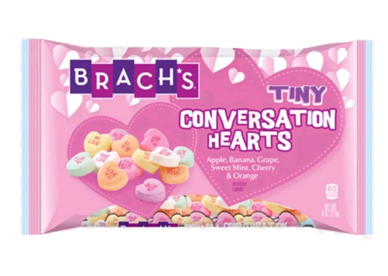 Branch's Tiny Conversation Hearts
