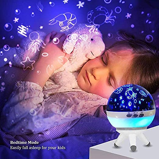 Luz de Noche giratoria, proyector Starry Sky Star Master Niños ...