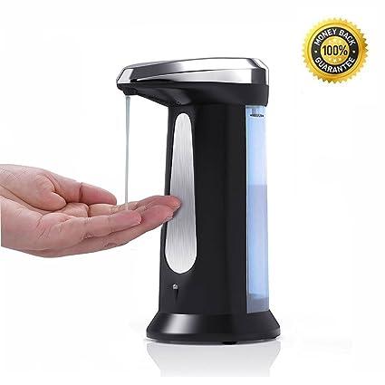 pilaaidou dispensador de jabón, automático dispensador de jabón, mano desinfectante contenedor con Base-