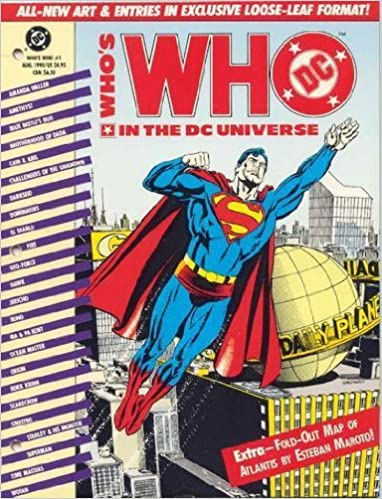 Amazon.com: Who\'s Who in the DC Universe #1 with FOLD OUT ...