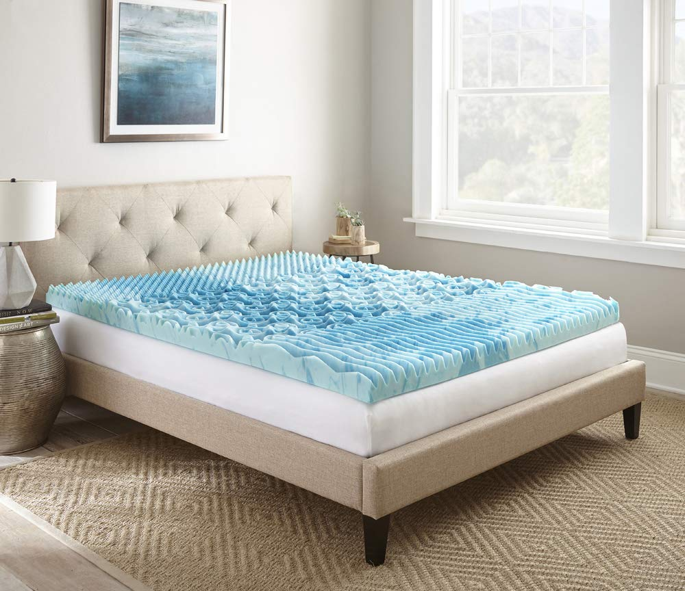 Broyhill GelLux Gel Infused Cooling Foam Mattress Topper, 3'' King by Broyhill