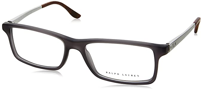 d57991974633 Amazon.com: Ralph Lauren RL6128 Eyeglass Frames 5510-53 - Matte Grey ...