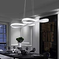 Lámpara Colgante LED, ZMH Luz de Techo Iluminación