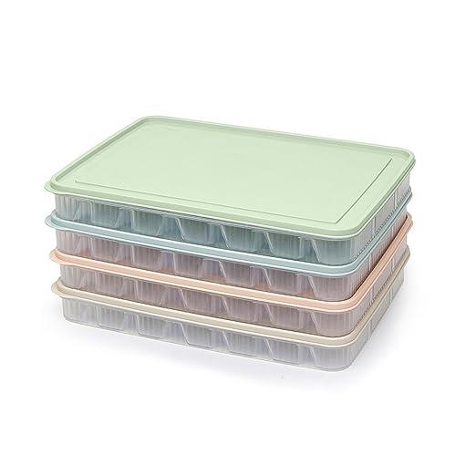 Dumpling caja nevera fresh de almacenamiento tapa horno microondas ...