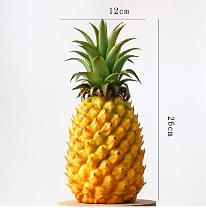 Amazon Com Xdobo Realistic Artificial Fruits Fake Pineapple For