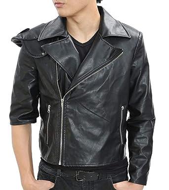 0a275afcba9 Amazon.com  Mad-Max Costume Fury Road Motorcycle Jacket Cool Black ...
