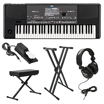 Korg PA600 Professional Arranger Keyboard with Knox: Amazon in