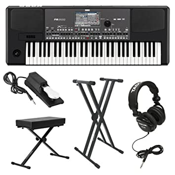 Amazon.com: Korg PA600 Professional Arranger Keyboard with Knox ...