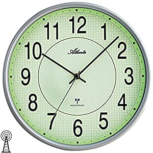 Atlanta Relojes de Pared Radio Controlados - 4385-19 16